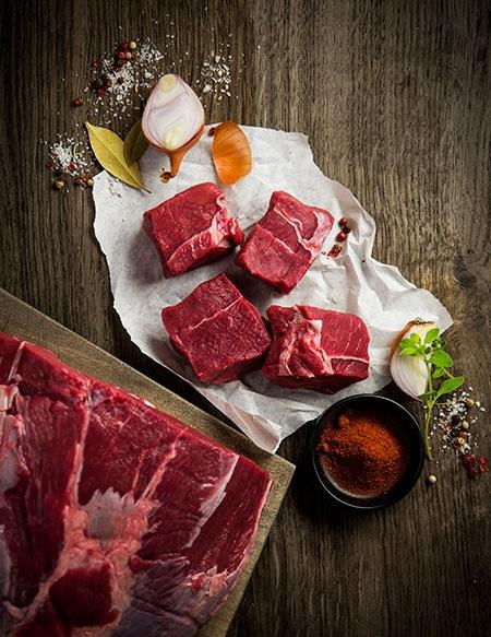 ÖBERIO Hofgenau Rindfleisch portioniert